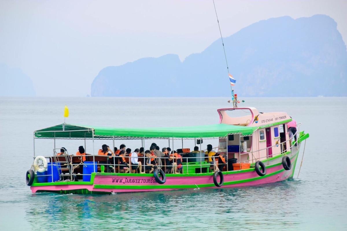 ทะเลตรัง 3 เกาะ (ถ้ำมรกต)เกาะมุก, เกาะกระดาน, เกาะเชือก (One Day Trip)