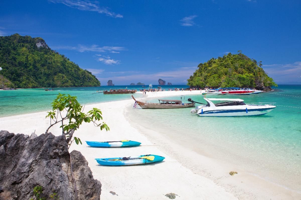 ดำน้ำเกาะพีพี & เกาะไผ่ <Speed Boat> (1 Day)