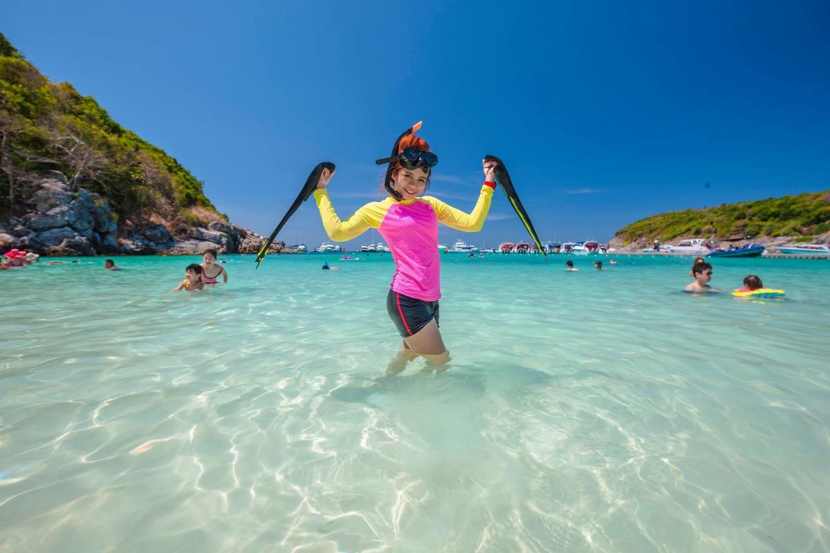 แพคเกจดำน้ำ<เกาะรายา+เกาะเฮ+เกาะไม้ท่อน> Speed Boat (3D2N)