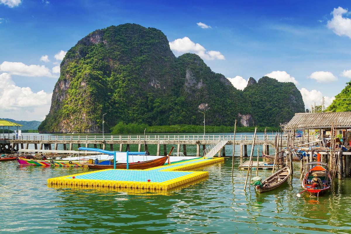 แพคเกจ*ล่องเรือเที่ยวเกาะเจมส์บอน+เกาะรายา+Citytour  (4D3N)