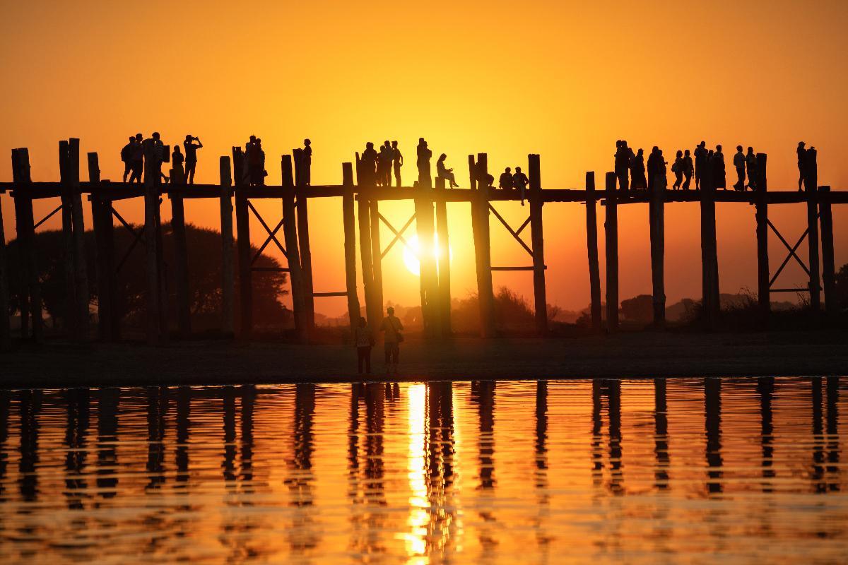 มหัศจรรย์...MYANMAR มัณฑะเลย์ สกายน์ อังวะ มิงกุน 3 วัน 2 คืน