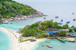 แพคเกจ<ดำน้ำเกาะเต่า - เกาะนางยวน> (กรุงเทพฯ รถบัส)  3D2N