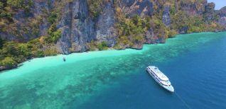 ทัวร์เกาะพีพี (Sea Angel cruise) 1 Day