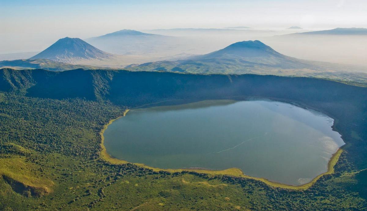 ทัวร์ 1 วันไปเที่ยวปากปล่องภูเขาไฟโกรองโกโร่ (Ngorongoro)จากเมืองอารุชา
